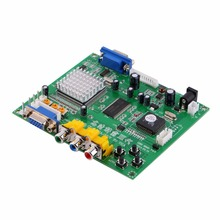 Whole Arcade Game RGB/CGA/EGA/YUV to VGA HD Video Converter Board HD9800/GBS8200 Supports Component Signal Input