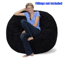 Bean bag chair for Adult lounger beanbag COVER ,Not included fillings(China)