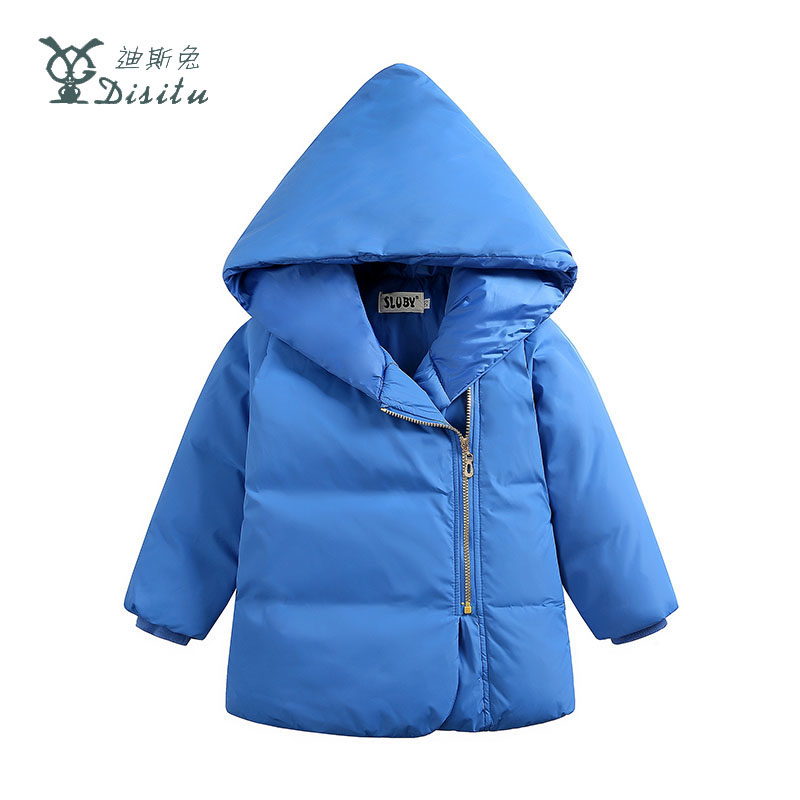 DISITU New Childrens Down Jacket For Girls Boys Winter Jacket White Duck Down Kids Jackets Fashion Cute Warm Outerwear Coat  Îäåæäà è àêñåññóàðû<br><br>