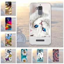 "Luxury Painted TPU Case For Asus Zenfone 3 Max ZC520TL Soft Silicone Phone Case For Asus Zenfone 3 Max ZC520TL Cover 5.2"" Fundas"