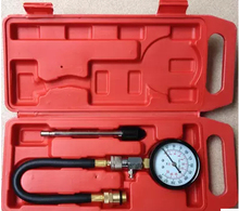 Professional Car/Motor Pressure Compression Tester Cylinder Pressure Gauge With extension bar G324(China)