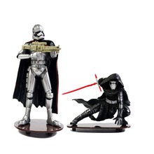 "Star Wars The Black Series Stormtrooper Captain Phasma 4"" Statue Figure no Box Hasbro0130 Hasbro0131 Hasbro0132"
