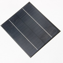 Wholesale 6W 18V Small Solar Panel/Monocrystalline Silicon Solar Cells DIY Solar Module For Solar Power System 100pcs/lot