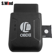 OBD II GPS Realtime Tracker Car Truck Vehicle Mini Tracking Device GSM GPRS GPS Tracker Suit for Android IOS Web System(China)