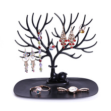 1Pc Creative Antlers Jewelry Racks Accessories Rack Ornaments Shelf Display European Style Storage Holder Hot Sale 2017(China)