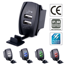 USB Car Charger Socket Power Adapter 5V 3.1A Universal Dual USB Socket Charger For iPhone 5 6 6S Ipad Samsung Tablet