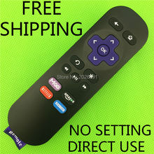Hot sale High Quality Replacement Lost Remote Control For Ruko 1 Roku 2 Roku 3 fernbedienung black NEW
