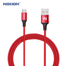 Original NOHON Type C USB Cable For Xiaomi Mi 4C Mi5 4s OnePlus 2 Nexus 5 5X 6P Android Phone Fast Charger Cable Type-C Wire(China)