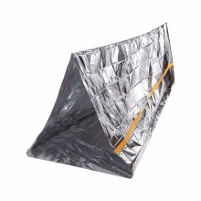 2.36 x 1.5m Emergency Survival Blanket Tent Blanket Portable PET Film Shelter Outdoor Rescue Emergency Aid Tent Keep Warm