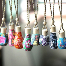 Polymer Clay Hanging Perfume Fragrance Bottle Refillable Car Home Air Freshener