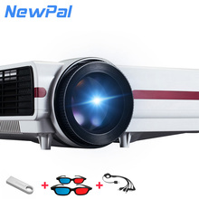 New Arrival 3D 3500Lumens Full HD Projector Support 1080P 3D Source Film Video Home Cinema Multimedia Beamer Projector