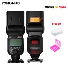 New YONGNUO Flash Speedlite YN968N Wireless TTL 1/8000 with LED Light for Nikon Camera Compatible with YN622N and YN560-TX(China)