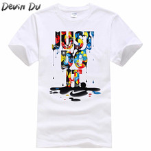 Buy 2018 New Fashion Just T shirt Brand Clothing Hip Hop Letter Print Men T Shirt Short Sleeve Anime High T-Shirt Men for $4.08 in AliExpress store