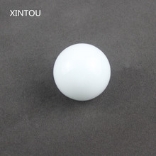 XINTOU Pure White Crystal Glass Sphere Ball 30 mm Feng shui Vase Fish Tank Decorative Stone Kids Birthday Toy Balls Craft Gift(China)