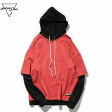 Aelfric Eden Men Colors Splice Hooded Sweatshirts Male Fashion Casual Long Sleeve Pullover Hoodies Harajuku Brand Clothing PA085