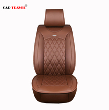 Buy  (Front + Rear) Special Leather car seat covers Skoda Octavia Fabia Superb Rapid Yeti Spaceback Joyste Jeti auto accessories for $111.51 in AliExpress store
