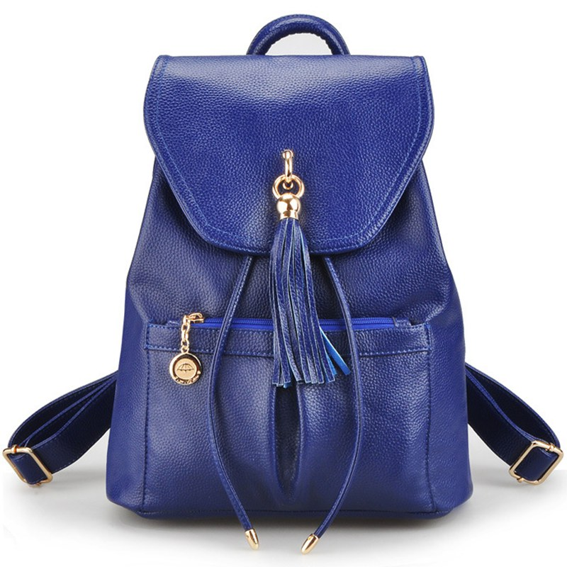 Womens Backpacks Leather Women Bag Small Shoulder Bags For Teenagers Girls Ladies Travel Schoolbag Top-handle Rucksacks Mochila<br>