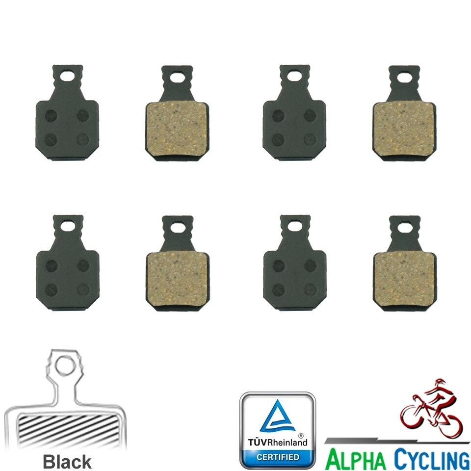 4 Pairs Metallic Bike Hydraulic Disc Brake Pads For Magura M5 MT5 M7 MT7 SH901