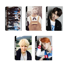 Youpop KPOP BTS Bangtan Boys RUN Album LOMO Cards K-POP New Fashion Self Made Paper Photo Card HD Photocard LK440