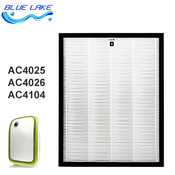 Original OEM, for AC4025/ ac4026,4104HEPA,dust collection filter,Filter pm2.5,size 237*295*30mm,air purifier parts/accessories<br><br>Aliexpress