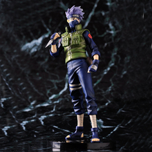 22cm Japanese Anime Naruto Kakashi Action Figure Puppets Figure PVC Toys Figure Model Table Desk Decoration Accessories Kid Gift