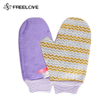 Waterproof Woven Double-Sided Bamboo Microfiber Cleaning Cloth Gloves No Detergent Super Cleaner 6P