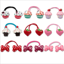 New Arrival styling tool cake bow Elastic Hair Bands accessories make you Beautiful used by women young girl and children