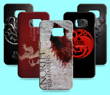 Ice and Fire Cover Relief Shell For Samsung Galaxy S7 SM-G9300 Cool Game of Thrones Phone Cases For Galaxy S7 edge