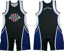 Custom Sublimation wrestling singlets(China)