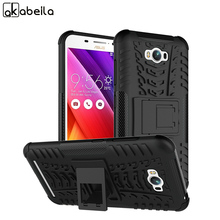 AKABEILA Military Armor Kickstand Phone Case For ASUS Zenfone MAX ASUS_Z010DD Z010D ZC550KL Case 2 in 1 Hybrid Protective Covers