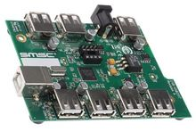 New original EVB-USB2517 development kit, USB2517 High Speed USB 2.0 Multi TT 7 Port Hub Customer Evaluation Board(China)