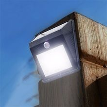12 LED Waterproof IP65 Solar Powered PIR Motion Sensor Light Outdoor Garden Landscape Yard Lawn Security Wall Lamp - Vishine 01 Store store