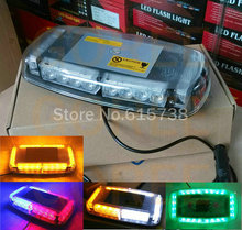 12v Car Roof Led Strobe Lights Bar Police Emergency Warning Fireman Flash Led Police Lights