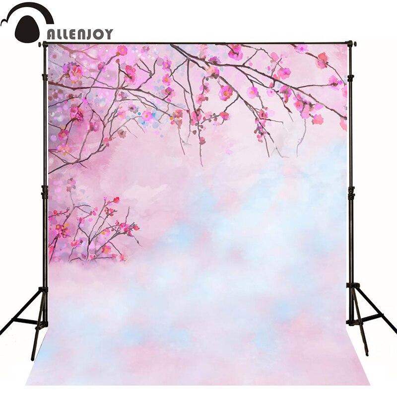 Allenjoy photography backdrops Romantic pink flower bokeh backgrounds for photo studio Custom size<br><br>Aliexpress