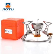 Lightweight Outdoor Portable Gas Stove Rated Power 3200W Split Furnace Cooker Windproof Picnic Cooking System Camping Gears