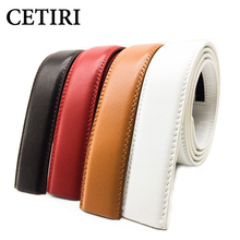 White Belt FreeShip No Buckle 35MM Wide Belts Body Designer High Quality Cowskin Genuine Leather Belt Automatic Belts Body Kemer