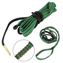 Convenient Green Cleaner Rope 22 Cal 5.56mm 223 Caliber Gun Rifle Cleaning Cord Snake Kit Hunting Gun Accessories 1Pcs