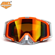 AMZ Motocross ATV Dirt Bike Off Road Racing Goggles Motorcycle glasses Ski Surfing Airsoft Paintball(China)