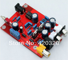 TDA1543 decoder board with Optical fiber coaxial switch