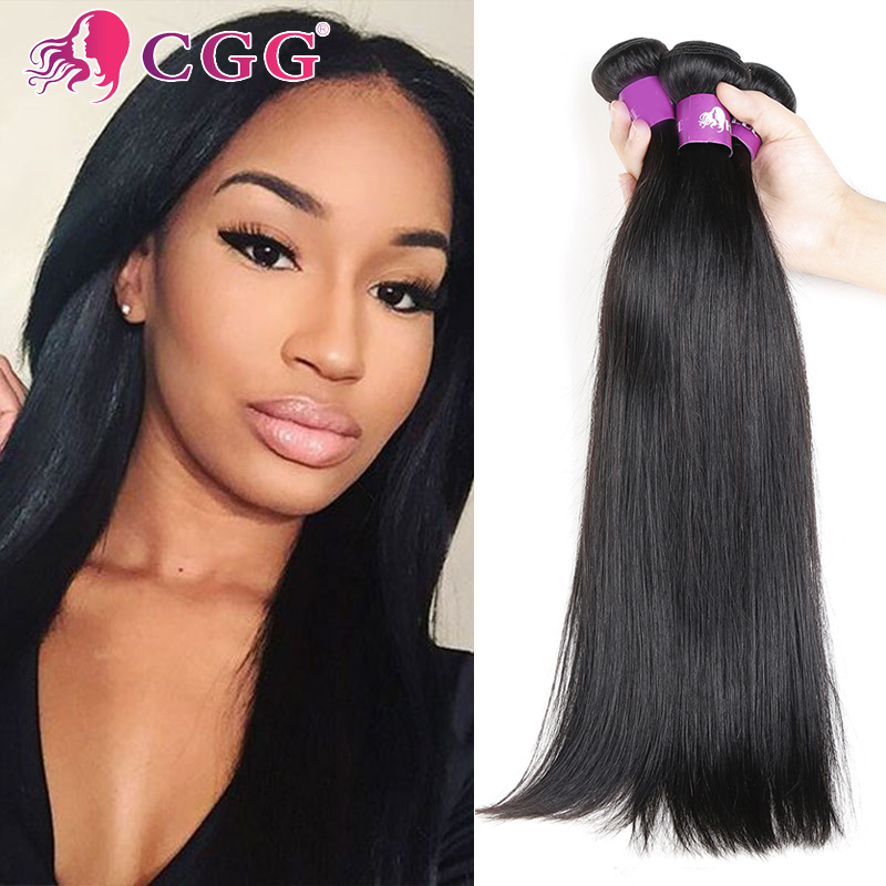 4 Bundles Brazilian Hair Straight 7A Unprocessed Brazilian Virgin Hair Straight No Tangle 100% Human Hair Weaving Extensions<br><br>Aliexpress