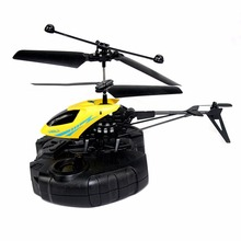 New 1PC 2CH Mini RC Helicopter Remote Control Radio Aircraft Electric Micro 2 Channel(China)