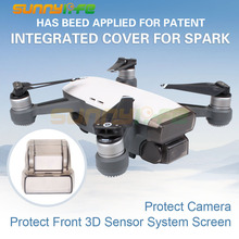 Gimbal Camera Cover Front 3D Sensor System Screen Protector for DJI SPARK Drone Accessories(China)