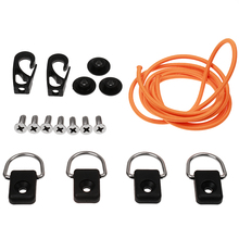 Kayak Canoes Bungee Deck Rigging Kit D Rings Hooks Hardware Accessory for Kayaking Inflatable Boat  Dinghy Deck kit Accessory