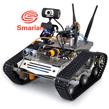 smarian Wifi Robot Car chassis Kit for Arduino Hd Camera Ds Robot Smart Educational Robot Kit for Kid wifi rc clawler diy rc toy