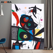 Joan Miro Spanish painter JOANMIRO Canvas Art Printing Painting Home Decoration, Wall Pictures For Living Room, Home Decor(China)