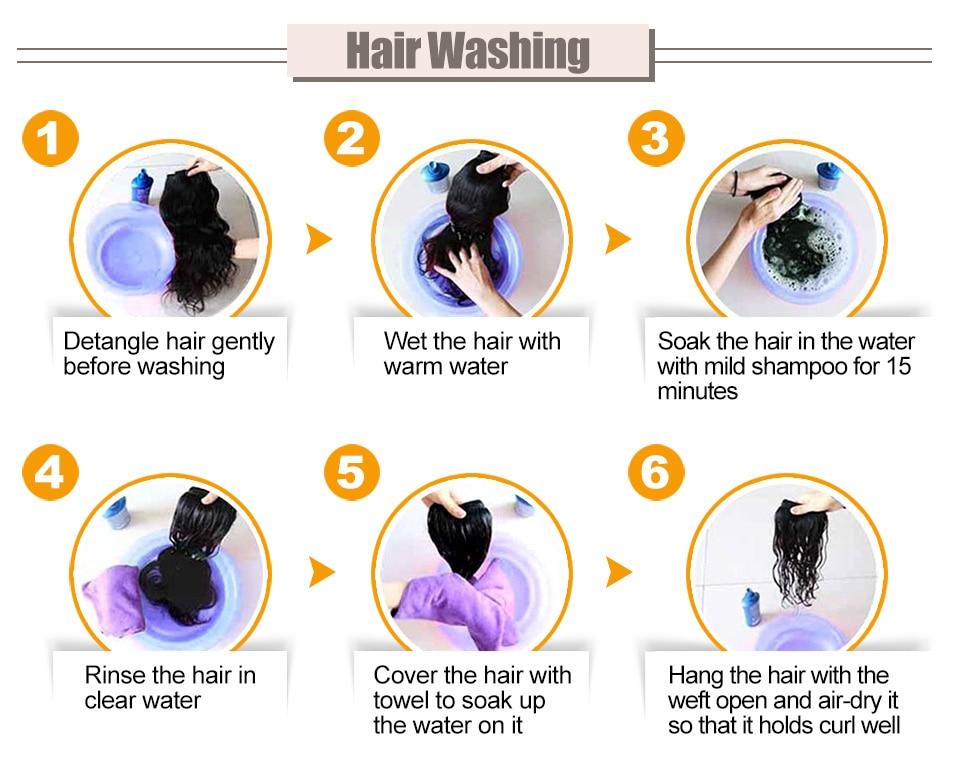 Hair Villa Brazilian Straight Hair Non Remy Hair 2/3 Bundles Human Hair Weave With Swiss Closure 1B Natural Color Free Shipping