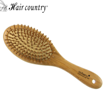 Hair Country  Wooden Hair Brush Healthy Care Massage Natural Sandalwood Hair Combs Airbag Hairbrush Hair Styling Tool
