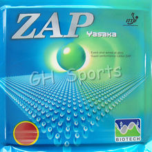 Yasaka ZAP BIOTECH 40mm NO ITTF Pips-in Table Tennis PingPong Rubber With Sponge 40-44 Degrees