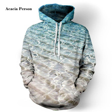 Acacia Person Men/Women Hoodies Hooded Jacket 3d Print Sea Beach Men Sweatshirt Long Sleeve Cap Hoodies lovely Tracksuit Hoody(China)