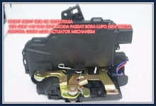 DOOR LOCK ACTUATOR MECHANISM FRONT RIGHT SIDE 3B1837016A FOR GOLF 4 IV MK4 SEAT SKODA PASSAT BORA LUPO NEW BEETLE CENTRAL(China)